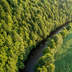 The Battenkill River in Shushan, New York near the Vermont border.