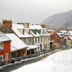 First Snow of the Season in Harpers Ferry