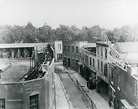 1922 Movie sets at Famous Players Lasky Studios