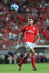 August 21, 2018 - Lisbon, Portugal - Benfica's Portuguese defender Ruben Dias in action during the UEFA Champions League play-off first leg match SL Benfica vs PAOK FC at the Luz Stadium in Lisbon, Portugal on August 21, 2018. (Credit Image: © Pedro Fiuza via ZUMA Wire)