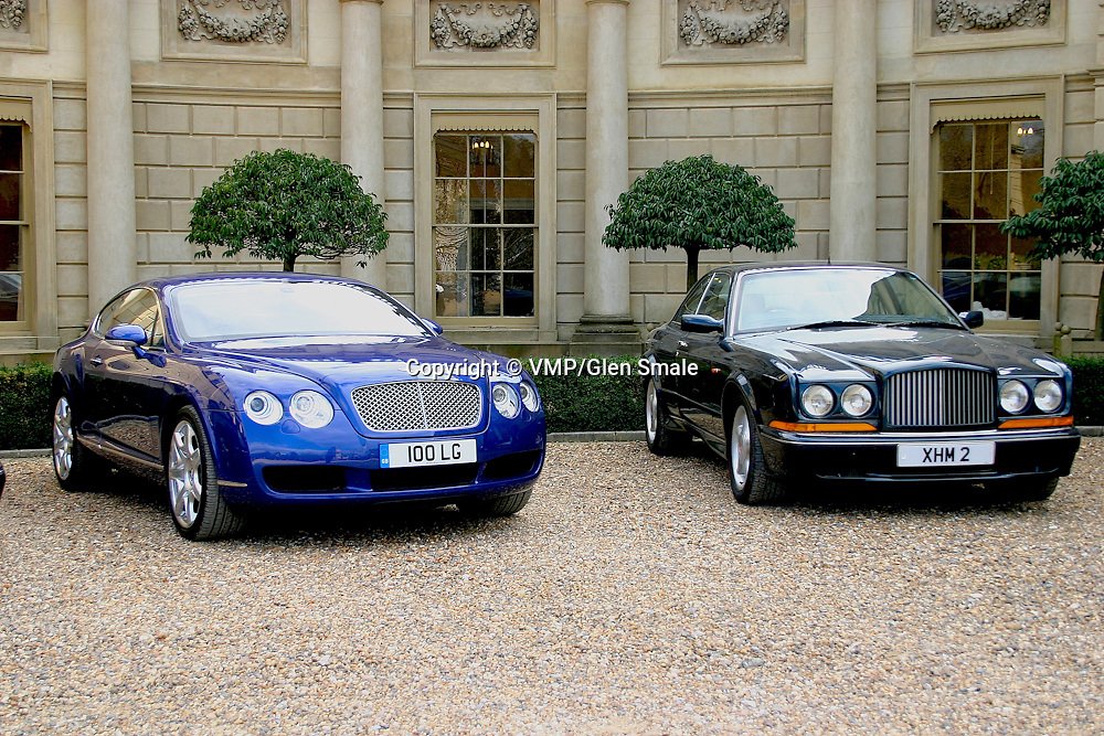 2007 Bentley Continental GT with 1991-2003 Bentley Continental R, Clivedon House Bucks