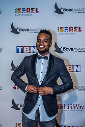 October 11, 2016 - Nashville, Tennessee, USA - Travis Greene at the 47th Annual GMA Dove Awards  in Nashville, TN at Allen Arena on the campus of Lipscomb University.  The GMA Dove Awards is an awards show produced by the Gospel Music Association. (Credit Image: © Jason Walle via ZUMA Wire)