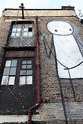 Derelict Buidling in Great Eastern Street, Shoreditch, London E1