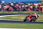 25th October 2019; Phillip Island Grand Prix Circuit, Phillip Island, Victoria, Australia; Australian Moto GP, Practice day; The number 99 Repsol Honda Team rider Jorge Lorenzo during free practice 2 - Editorial Use