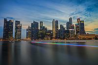 Marina Bay @ Sunset