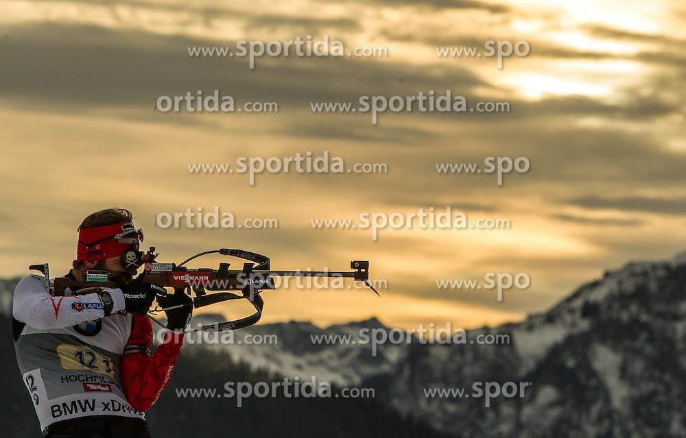 13.12.2014, Biathlonarena, Hochfilzen, AUT, E. ON IBU Weltcup, Staffel, Herren, im Bild Marc Andre Bedard (CAN) // during Mens Relay of E. ON IBU Biathlon World Cup at the Biathlonstadium in Hochfilzen, Austria on 2014/12/13. EXPA Pictures © 2014, PhotoCredit: EXPA/ JFK
