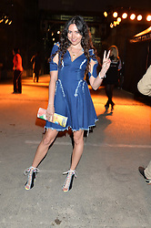 ELIZA DOOLITTLE at the Battersea Power Station Annual Party at Battersea Power Station, 188 Kirtling Street, London SW8 on 30th April 2014.