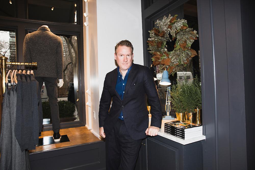 Men's designer Todd Snyder for Business Insider