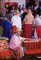 Morocco. Rif Region. Souk of Oued Laou. // Maroc. Region du Rif. Souk de Oued Laou.
