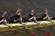 Chiswick. GREAT BRITAIN, 03/11/2007  Marlow and Thames RC, Bow Elise LAVERWICK, Annie VERNON, Sarah WINCKLESS and Kathrine GRAINGER,  Fullers Fours Head of the River Race. [Mandatory Credit Peter Spurrier/Intersport Images] ,Rowing Course: River Thames, Championship course, Putney to Mortlake 4.25 Miles,