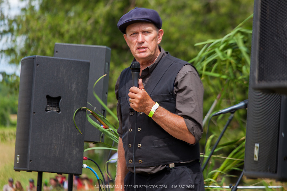 Michael Schmidt, raw milk farmer at Lifestock 2016