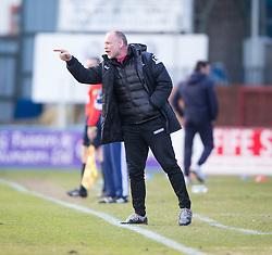 Inverness Caledonian Thistle's manager John Hughes, <br /> Dundee 1 v 1 Inverness Caledonian Thistle, SPFL Ladbrokes Premiership game played at Dens Park, 27/2/2016.