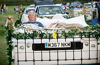 Edd China at the Pub in the Park's drive in Garden Party Henley photo by Brian Jordan