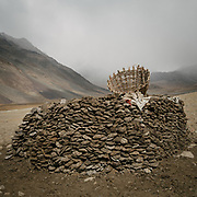 """Camp at a Wakhi high pasture names """"Warm"""", below Garumdee Pass. Guiding and photographing Paul Salopek while trekking with 2 donkeys across the """"Roof of the World"""", through the Afghan Pamir and Hindukush mountains, into Pakistan and the Karakoram mountains of the Greater Western Himalaya."""