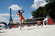 Tuesday June 17th 2008. Paris, France.Swatch FIVB World Tour - Henkel Grand Chelem..Women's qualifications.
