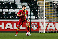 Pictured: Samuel Ricketts of Wales. Wednesday 06 February 2013..Re: Vauxhall International Friendly, Wales v Austria at the Liberty Stadium, Swansea, south Wales.