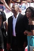 June 30, 2012-Los Angeles, CA : Actor Robert Townsend and daughter Skye Townsend attend the 2012 BET Awards held at the Shrine Auditorium on July 1, 2012 in Los Angeles. The BET Awards were established in 2001 by the Black Entertainment Television network to celebrate African Americans and other minorities in music, acting, sports, and other fields of entertainment over the past year. The awards are presented annually, and they are broadcast live on BET. (Photo by Terrence Jennings)
