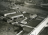 1930 Aerial View of Mack Sennett's Keystone Studios in Edendale, CA