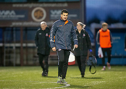 Airdrie's manager Ian Murray at the end. Stenhousemuir 1 v 0 Airdrie, Scottish Football League Division One played 26/1/2019 at Ochilview Park.
