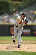 CHICAGO - JULY 27:  Max Scherzer #37 of the Detroit Tigers pitches against the Chicago White Sox on July 27, 2011 at U.S. Cellular Field in Chicago, Illinois.  The White Sox defeated the Tigers 2-1.  (Photo by Ron Vesely)  Subject: Max Scherzer
