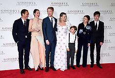 Goodbye Christopher Robin Premiere - 20 Sep 2017