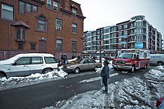 2011/01/29 man falls from roof