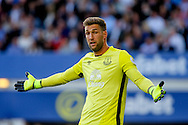 Everton Goalkeeper Maarten Stekelenburg looks on. Premier league match, Everton v Middlesbrough at Goodison Park in Liverpool, Merseyside on Saturday 17th September 2016.<br /> pic by Chris Stading, Andrew Orchard sports photography.