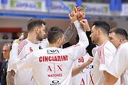 Cinciarini Andrea, Burns Christian,Scola Luis<br /> Legabasket SerieA 2019-2020<br /> Brindisi 01/02/2020<br /> Foto: Ciamillo-Castoria / Michele Longo