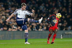 Chris Brunt of West Brom in action - Photo mandatory by-line: Rogan Thomson/JMP - 07966 386802 - 11/02/2015 - SPORT - FOOTBALL - West Bromwich, England - The Hawthorns - West Bromwich Albion v Swansea City - Barclays Premier League.