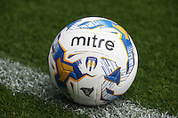 Mitre Delta Hyperseam making its Debut in the The Football League Sky Bet League One<br /> <br /> Photographer  Kieran Galvin/CameraSport<br /> <br /> Football - The Football League Sky Bet League One - Colchester United v Blackpool - Saturday 08th August 2015 - Weston Homes Community Stadium - Colchester<br /> <br /> © CameraSport - 43 Linden Ave. Countesthorpe. Leicester. England. LE8 5PG - Tel: +44 (0) 116 277 4147 - admin@camerasport.com - www.camerasport.com