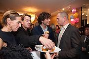 TIPHAINE DE LUSSY; SCOTT DOUGLAS; MIKA; DINOS CHAPMAN, LANVIN PARTY. Savile Row. London. 11 November 2009.