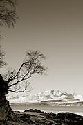 Black Cuillins from Ord, Isle of Skye, Scotland.