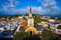 France, Martinique, Trois-îlets, l'église Notre-Dame-de-la-Délivrance // France, West Indies, Martinique, Trois-îlets, the Notre-Dame-de-la-Délivrance church