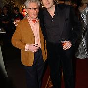 Kerstborrel Princess 2004, Jacques d'Ancona en Hans Klok