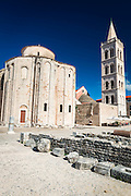 St. Donatus Church and Roman forum, Zadar, Dalmatian Coast, Croatia