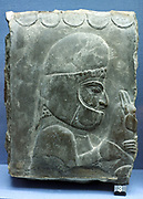 A Median servant depicted on a relief from Persepolis during the reign of Darius or Xerses. 510-465 BC