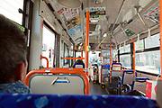 public bus in Yokosuka Japan