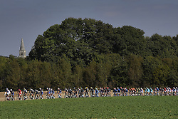October 9, 2016 - Tours, FRANCE - TOURS, FRANCE - OCTOBER 9 : The peleton passes through the Porte Saint Georges in Vendome during  the 110th edition of the Paris-Tours cycling race with start in Dreux and finish in Tours on October 09, 2016 in Tours, France, 9/10/2016 (Credit Image: © Panoramic via ZUMA Press)