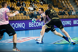 Josip Sarac  of RK Celje Pivovarna Lasko during handball match between RK Celje Pivovarna Lasko (SLO) and THW Kiel (GER) in Group Phase B of EHF Champions League 2020/21, on 1 October, 2020 in Arena Zlatorog, Celje, Slovenia. Photo by Grega Valancic / Sportida