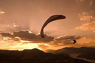 Paragliding at Volantis on Lac de Serre Poncon the French Alps
