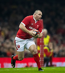 Ken Owens of Wales<br /> <br /> Photographer Simon King/Replay Images<br /> <br /> Friendly - Wales v Barbarians - Saturday 30th November 2019 - Principality Stadium - Cardiff<br /> <br /> World Copyright © Replay Images . All rights reserved. info@replayimages.co.uk - http://replayimages.co.uk