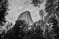 Devils Tower. Image taken with a Nikon D200 camera and 18-70 mm kit lens (ISO 100, 18 mm, f/5.6, 1/250 sec).