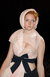 LILY COLE  at the 2005 Lancome Colour Design Awards in association with CLIC Sargent Cancer Care for Children held at the Freemasons' Hall, Great Queen Street, London on 23rd November 2005.<br />NON EXCLUSIVE - WORLD RIGHTS
