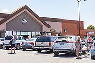 Page, Arizona, Safeway anchored shopping mall.