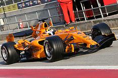 2006 Test, January Barcelona