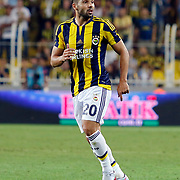 Fenerbahce's Volkan Sen during their UEFA Europa league Play-Offs Second Leg soccer match Fenerbahce between Atromitos at the Sukru Saracaoglu stadium in Istanbul Turkey on Thursday 27 August 2015. Photo by Aykut AKICI/TURKPIX
