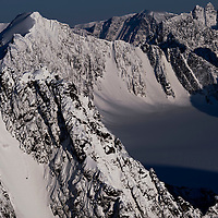 Jeremy Jones drops the 'Nat Geo' chute, 11pm, during the Further expedition on Svalbard. This was our second attempt at shooting this couloir. The first was beaten by sudden bad weather on arrival at the top.