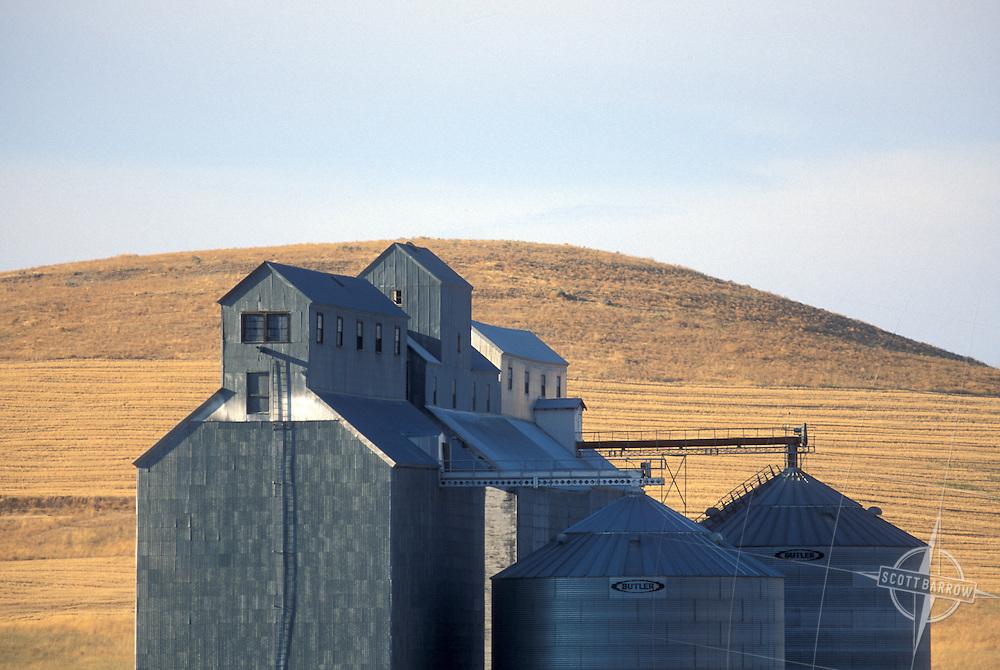 Grain silo/farm
