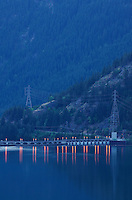 Diablo Lake and Diablo Dam, Ross Lake National Recreation Area, North Cascades Washington