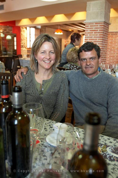 sara groves raines and fernando patxi martínez owner Bodega La Setera, DO Arribes del Duero spain castile and leon